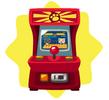 Figher arcade game