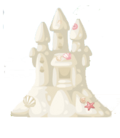 Enchanted Sand Castle