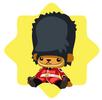 Royal guard doll