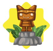 Pet ticki statue