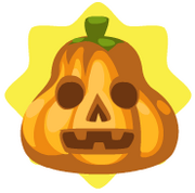 Pear scarecrow pumpkin head