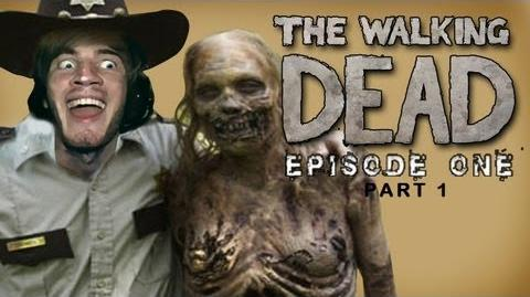 The Walking Dead - Lets Play - Episode 1 (A New Day) - Part 1 - Walkthrough Playthrough