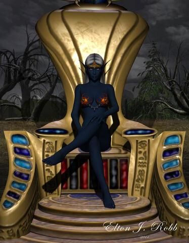 File:Nott drow goddess by atlantean6-d3b3kzl.jpg