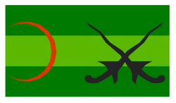 Flag of Kota Kambular (1780-1979)