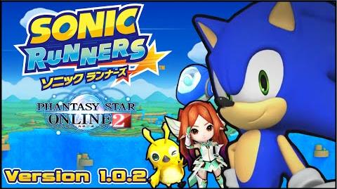 Sonic Runners Android Version 1.0.2t - Phantasy Star Online Companions (Mag, Rappy & Kuna)