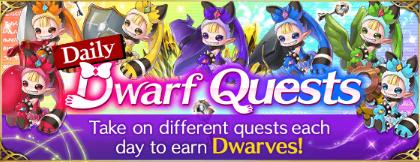 Daily Dwarf Quest banner