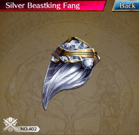 Silver Beastking Fang