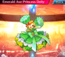 Emerald Axe Princess Deity