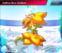 Saffron Bow Goddess