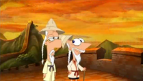 Ancient Phineas and Ferb