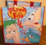 P&F Disney Store tote bag