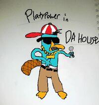 Platypower in Da House Yo, by DarkSkull12