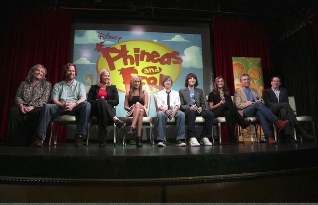 File:Phineas and Ferb cast and crew.jpg