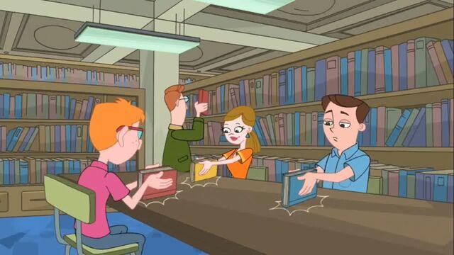 File:Adults bang books in rhythem.jpg