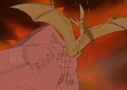 Pterosaur figthing