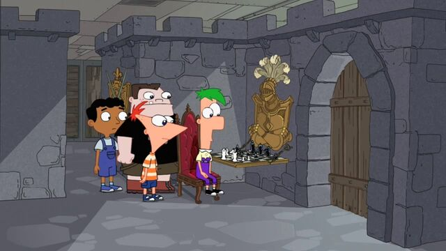 File:Ferb playing chess.JPG
