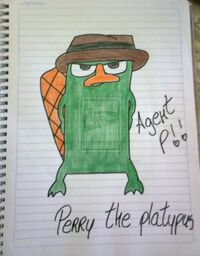 Perry the Platypus, by IlovePhineasandFerb