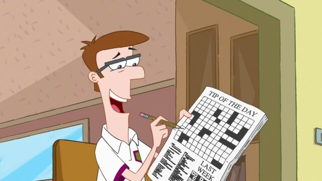 File:Doing the Tip of the Day crossword puzzle.jpg
