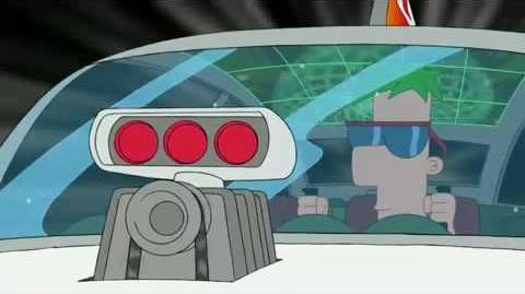 Phineas and Ferb - My Ride From Outer Space