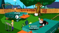 Phineas and Ferb The Movie Across the 2nd Dimension - DVD - Main Screen - 1st Dimension