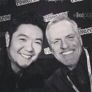 Rob Paulsen & Eric Bauza - NY ComicCon 2014