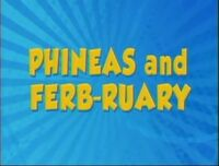 Phineas and Ferb-ruary logo