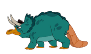 Perry the Triceratops