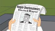 Roger Doofenshmirtz Elected Mayor