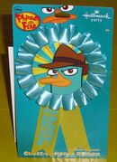 Agent P Guest of Honor badge