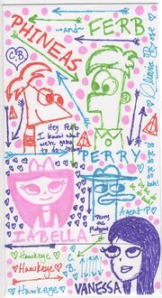 Doodles On An Envelope, by RosyInk-Liv54