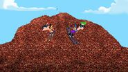 Skiing Down a Mountain of Beans