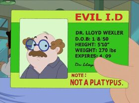 Dr. Wexler's ID card