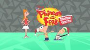 Phineas and Ferb Christmas Vacation! title card