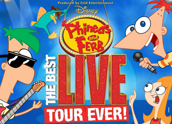 Phineas and Ferb Live! Logo 3