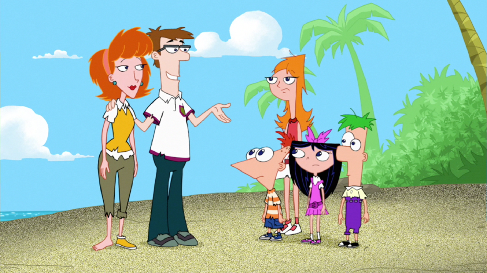 pics of the phineas and ferb family nude