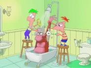 Monkey-shower