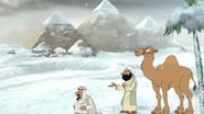 EgyptCoveredInSnow