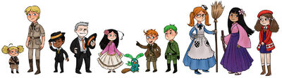 Phineas and Ferb x APH, by Kethavel
