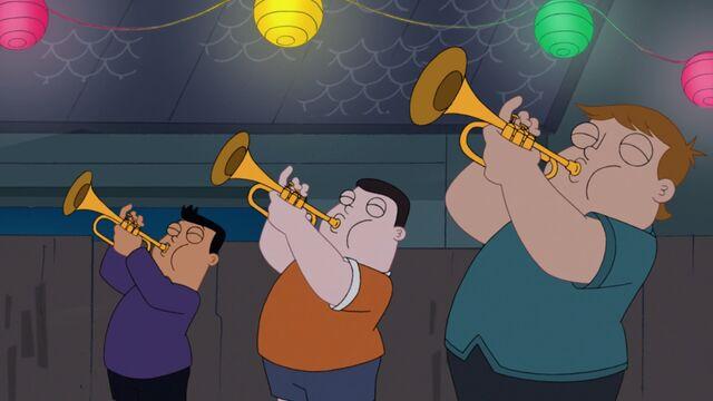 File:Boys playing trumpets.jpg