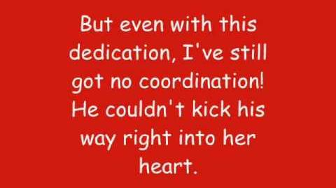 Phineas And Ferb - Couldn't Kick My Way Right Into Her Heart Lyrics (HQ)