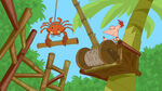 Phineas operates the Crab Crane