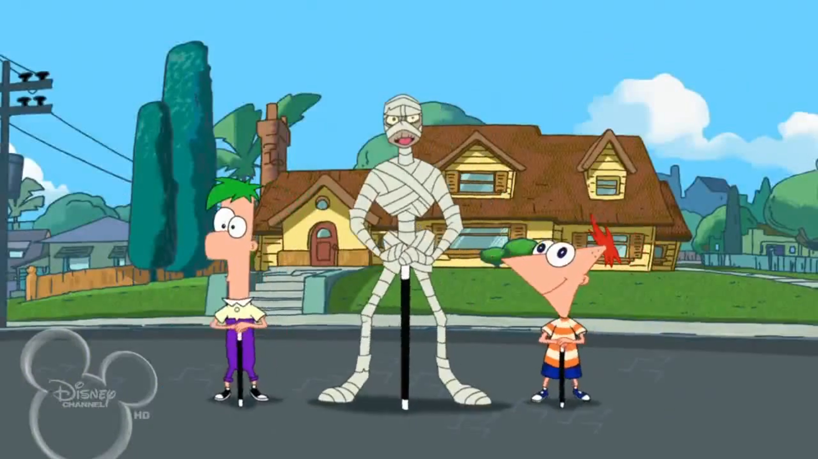 my undead mummy phineas and ferb wiki fandom powered by wikia
