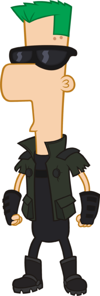 2nd Dimension Ferb Fletcher