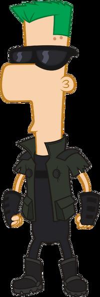 2nd Dimension Ferb Fletcher.png