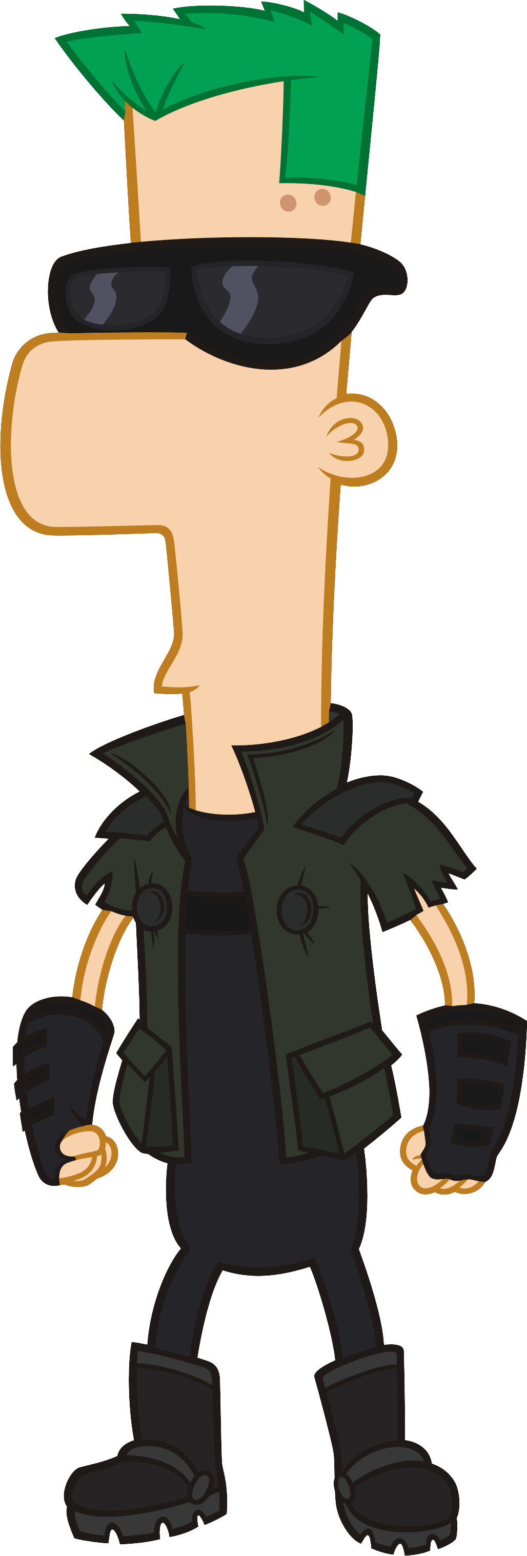image 2nd dimension ferb fletcherpng phineas and ferb