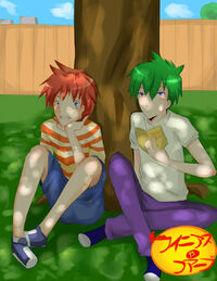Phineas and Ferb - Anime, by Monksea