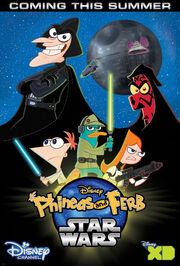 PhineasandFerbStarWarsPoster