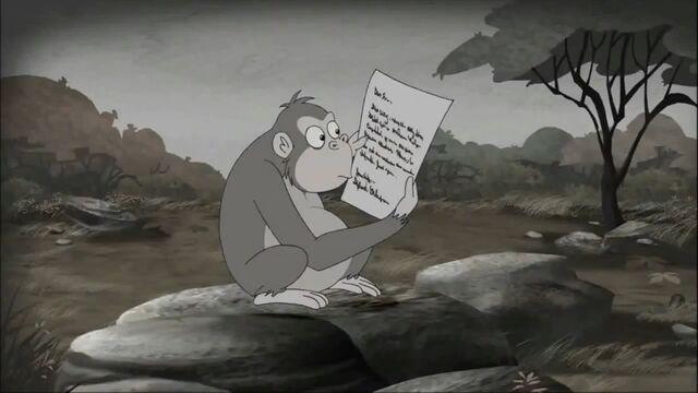 File:To a chimpanzee.jpg