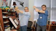 Dan and Swampy dancing Zubada