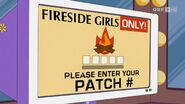 Fireside Girls website locked
